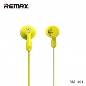 Remax Candy Earphone with Microphone - 301 - Black - 8