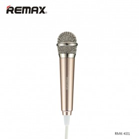 Remax Singsong K Mini Microphone - RMK-K01 - Golden