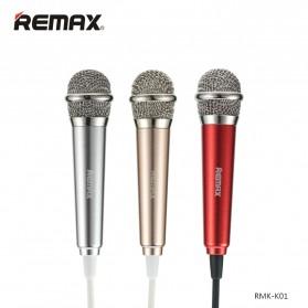 Remax Singsong K Mini Microphone - RMK-K01 - Golden - 4