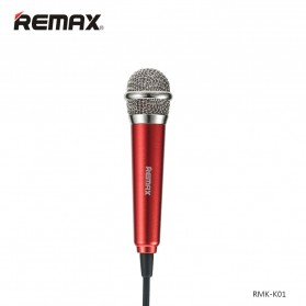 Remax Singsong K Mini Microphone - RMK-K01 - Red