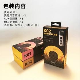 Remax Singsong K Microphone - RMK-K02 - Silver - 6