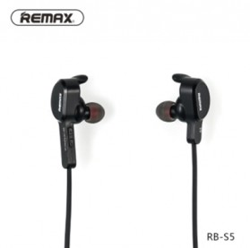 Remax Bluetooth 4.1 Wireless Sport Headset Earphone - RM-S5 - Black