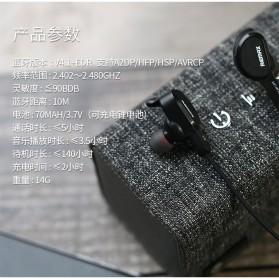 Remax Bluetooth 4.1 Wireless Sport Headset Earphone - RB-S5 - Black - 7