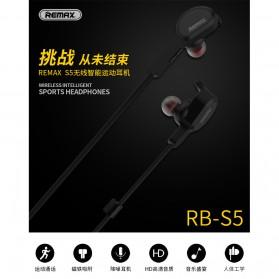 Remax Bluetooth 4.1 Wireless Sport Headset Earphone - RB-S5 - Black - 8