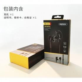 Remax Bluetooth 4.1 Wireless Sport Headset Earphone - RB-S5 - Black - 9