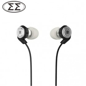 Remax Hybrid Earphone Moving Coil + Balance Armture Driver with Microphone - RM-800MD - Black