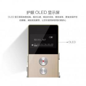 Remax Perekam Suara Digital Meeting Voice Recorder - RP1 - Black - 5