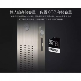 Remax Perekam Suara Digital Meeting Voice Recorder - RP1 - Black - 6