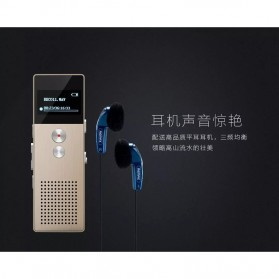 Remax Perekam Suara Digital Meeting Voice Recorder - RP1 - Black - 10