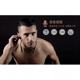 Remax Wireless Bluetooth Earphone - RB-S6 - Black - 7