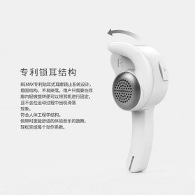 Remax Smart Bluetooth Headset Handsfree - RB-T10 - Black - 4