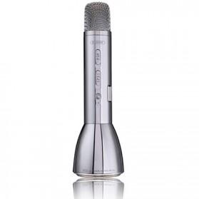 Remax Karaoke Mikrofon Speaker Bluetooth - RMK-K03 - Silver