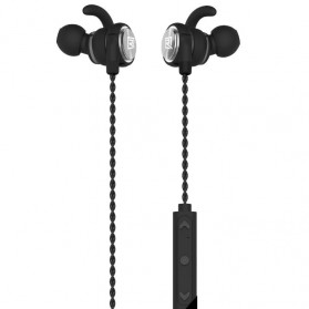 Remax Earphone Bluetooth Sporty - RB-S10 - Black - 1