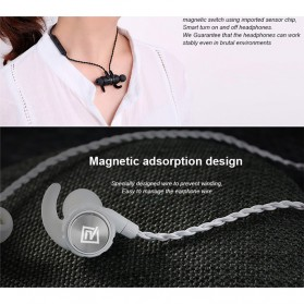 Remax Earphone Bluetooth Sporty - RB-S10 - Black - 8