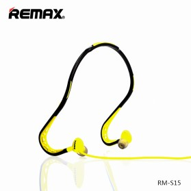Remax Sport Earphone - RM-S15 - Green