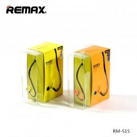 Remax Sport Earphone - RM-S15 - Green - 4