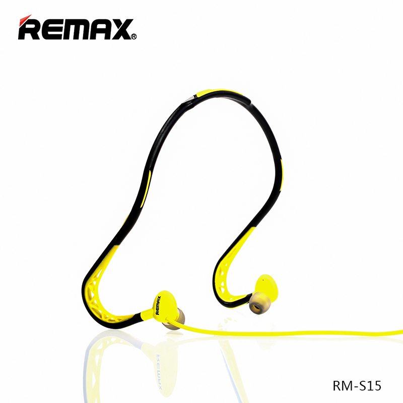 Remax Sport Earphone - RM-S15 - Green