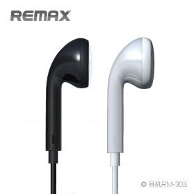 Remax Earphone - RM-303 - Black - 2