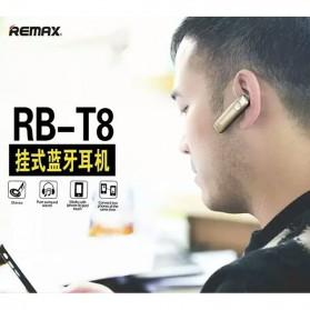 Remax Bluetooth Headset Handsfree - RB-T8 - Black - 7