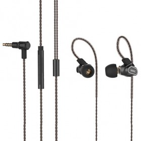 Remax Earphone - RM-580 - Black