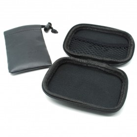 Remax Earphone Case - Black - 2