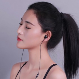 Remax Touch Music Earphone with Mic - RM-510 - Black - 3