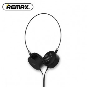 Remax Wired Music Headphone - RM-910 - Black