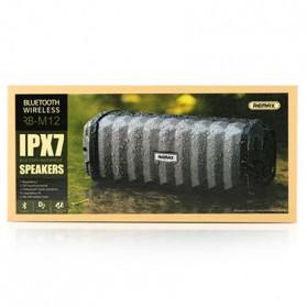 Remax Speaker Bluetooth Waterproof - RB-M12 - Black - 5