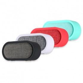 Remax Fabric Portable Bluetooth Speaker - RB-M11 - Black - 4