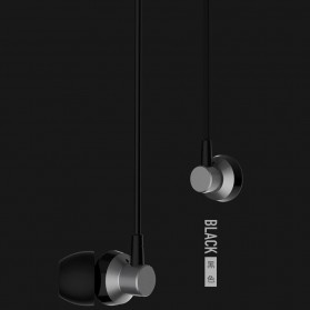Remax Wired Earphone - RM-512 - Black - 2
