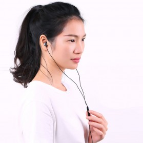 Remax Wired Earphone - RM-512 - Black - 6