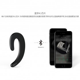 Remax Bluetooth 4.1 Headset Earphone - RB-T20 - Black - 6