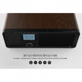 Remax Retro Bluetooth Speaker FM Radio - RB-H8 - Black - 2