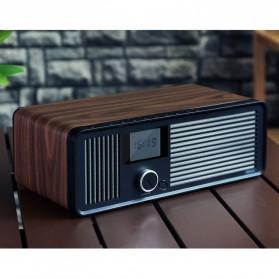 Remax Retro Bluetooth Speaker FM Radio - RB-H8 - Black - 3