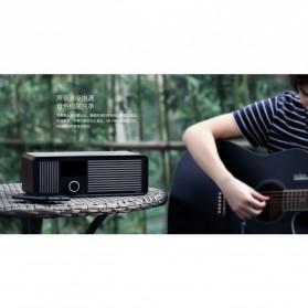 Remax Retro Bluetooth Speaker FM Radio - RB-H8 - Black - 5