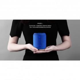 Remax Fabric Bluetooth Waterproof Speaker dengan FM Radio - RB-M21 - Black - 3