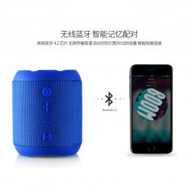 Remax Fabric Bluetooth Waterproof Speaker dengan FM Radio - RB-M21 - Black - 4