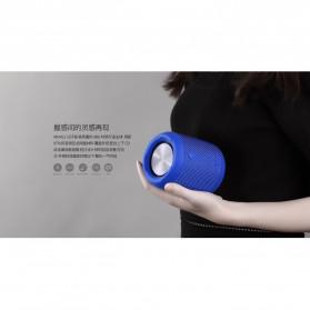 Remax Fabric Bluetooth Waterproof Speaker dengan FM Radio - RB-M21 - Black - 5