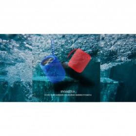 Remax Fabric Bluetooth Waterproof Speaker dengan FM Radio - RB-M21 - Black - 6