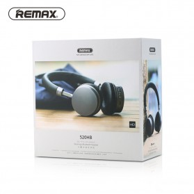 Remax Stereo Bass Bluetooth Headset - RB-520H - Black - 6
