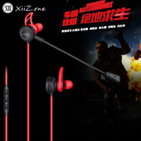 Remax Gaming Earphone dengan Detachable Mic - XII-CJ101 - Black