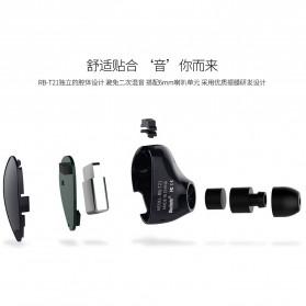 Remax Smart Bluetooth Headset Handsfree - RB-T21 - Black - 3