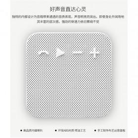 Remax Fabric Mini Bluetooth Speaker - RB-M18 - Black - 2