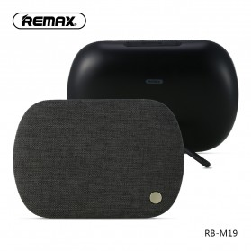 Remax Desktop Fabric Bluetooth Speaker - RB-M19 - Black - 1