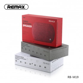 Remax Desktop Fabric Bluetooth Speaker - RB-M19 - Black - 5