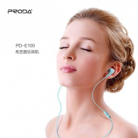 Proda Earphone - PD-E100 - Black - 2