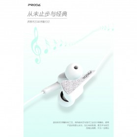 Proda Earphone - PD-E100 - Black - 4