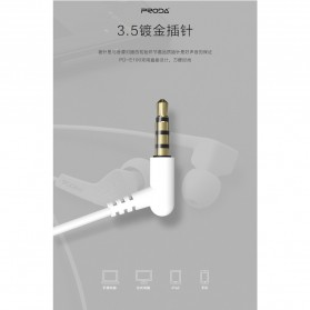Proda Earphone - PD-E100 - Black - 6
