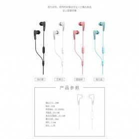 Proda Earphone - PD-E100 - Black - 8