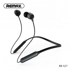 Remax Sport Bluetooth Earphone - RB-S17 - Black - 1